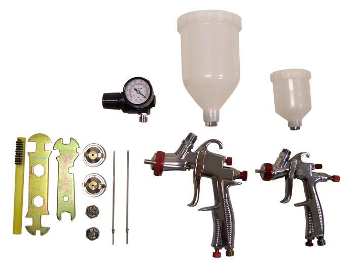 Sprayit Sp-33500 LVLP Gravity Feed Spray Gun Kit