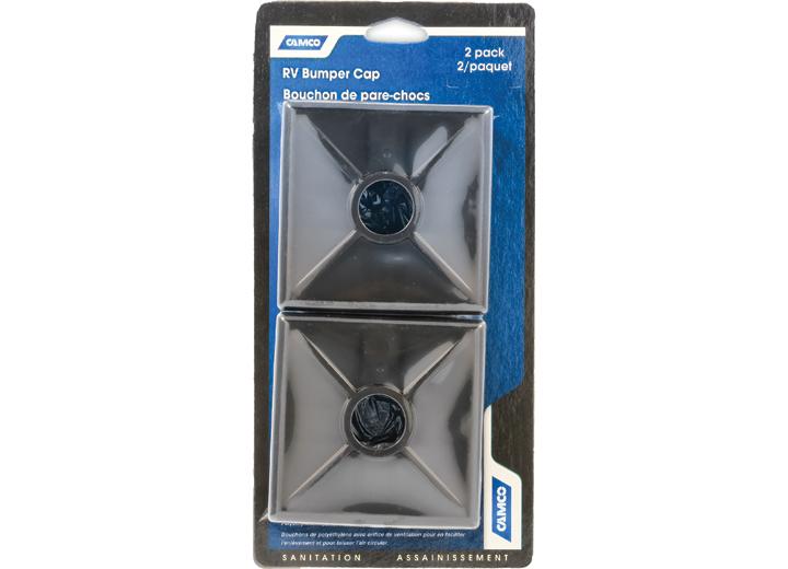 BUMPER CAPS BLACK 2 PER CARD