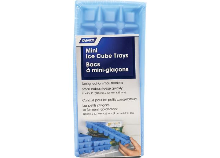 MINI ICE CUBE TRAYS 2 PACK 9IN X 4IN X 1IN
