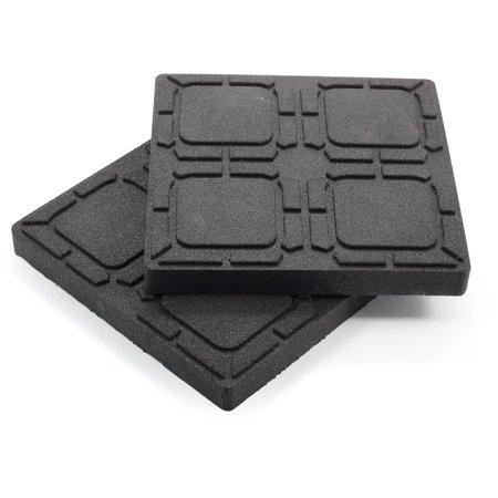 LEVELING BLOCK NON-SLIP PAD, 8-1/2IN X 8-1/2IN