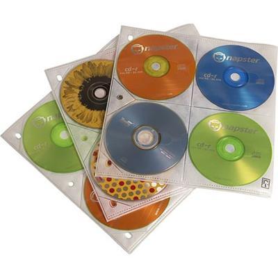 200 Disc Cap CD ProSleeve Pgs.