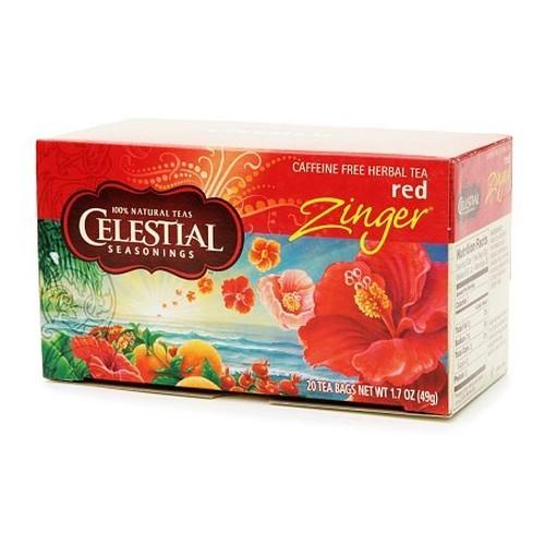 Celestial Seasonings Red Zinger Herb Tea (1x20 Bag)