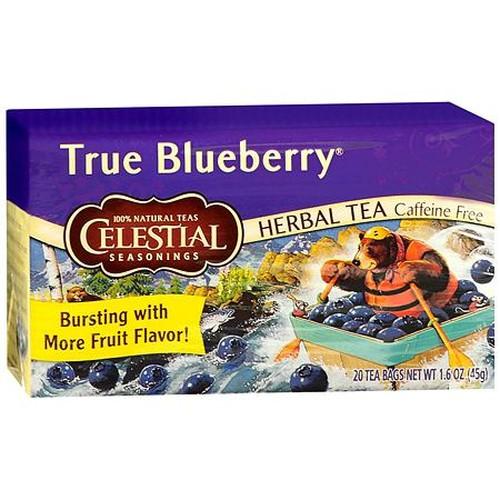 Celestial Seasonings True Blueberry Herb Tea (1x20 Bag)