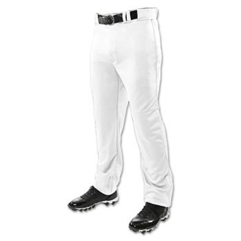 Champro Adult Triple Crown Open Bottom Pant White 2XL