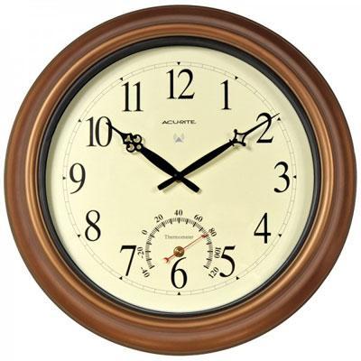 """Acu Outdoor RCC Clock Copper 18"""""""