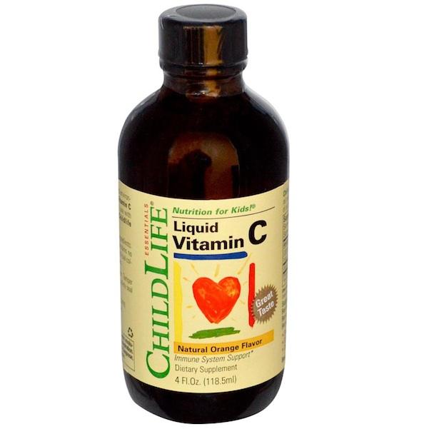 Childlife-Nutrition For Kids Vitamin C (1x4OZ )