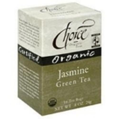 Choice Organic Teas Jasmine Green Tea (6x16 Bag)