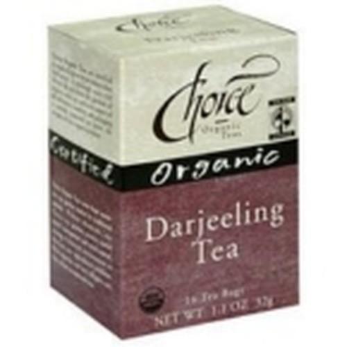 Choice Organic Teas Darjeeling Tea (6x16 Bag)