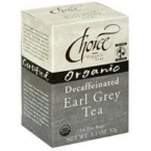 Choice Organic Teas Earl Grey Decaf Tea (6x16 Bag)
