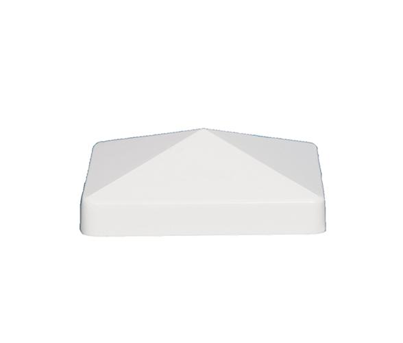4x4 PYRAMID PVC POST CAP