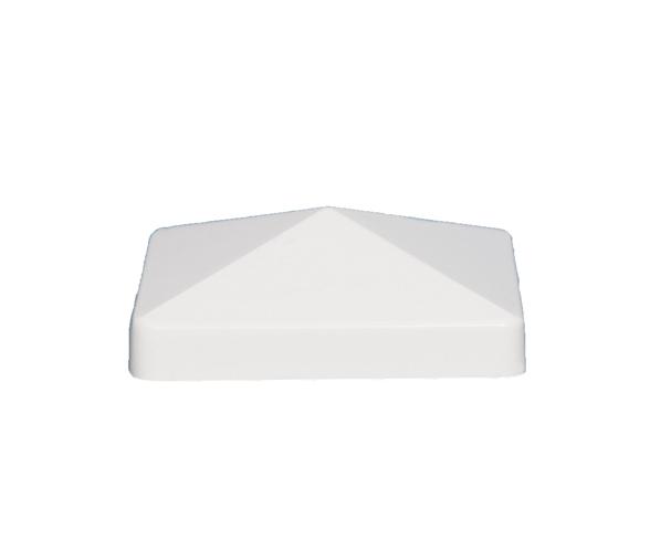 5x5 PYRAMID PVC POST CAP