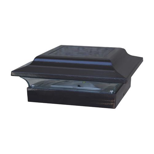 4.5x4.5 BASE IMPERIAL ALUMINUM -BLACK