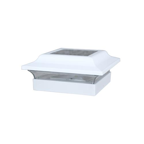 4.5x4.5 BASE IMPERIAL ALUMINUM - WHITE