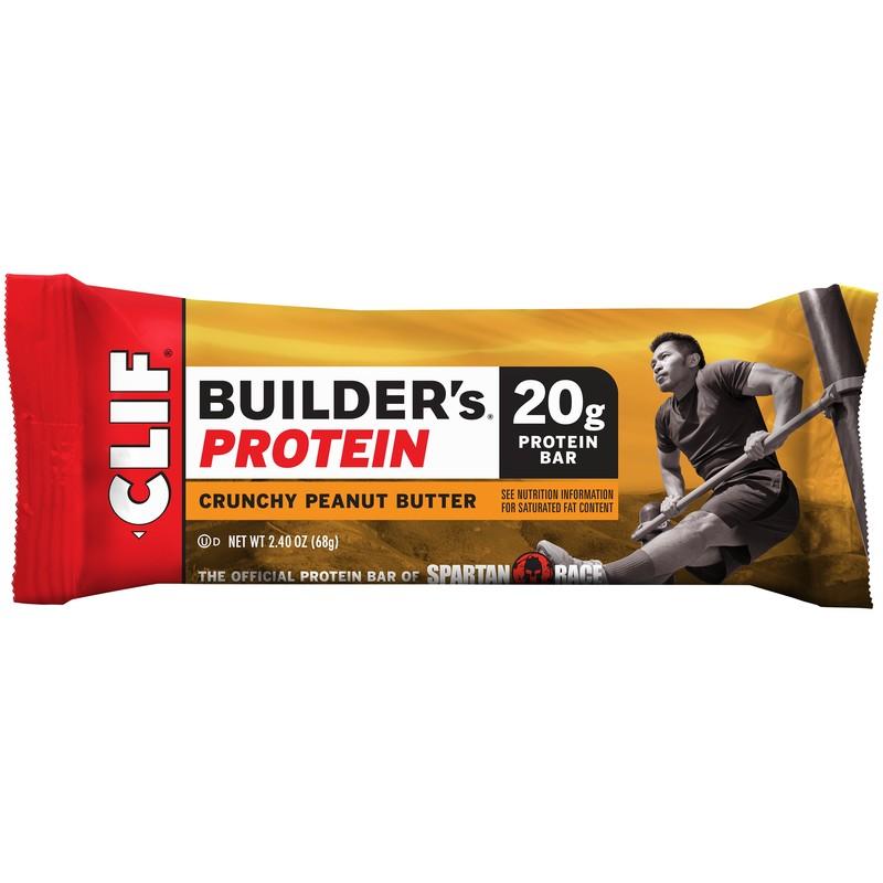 Clif Bar Builders Bar Crunchy Peanut Butter (12x24Oz)