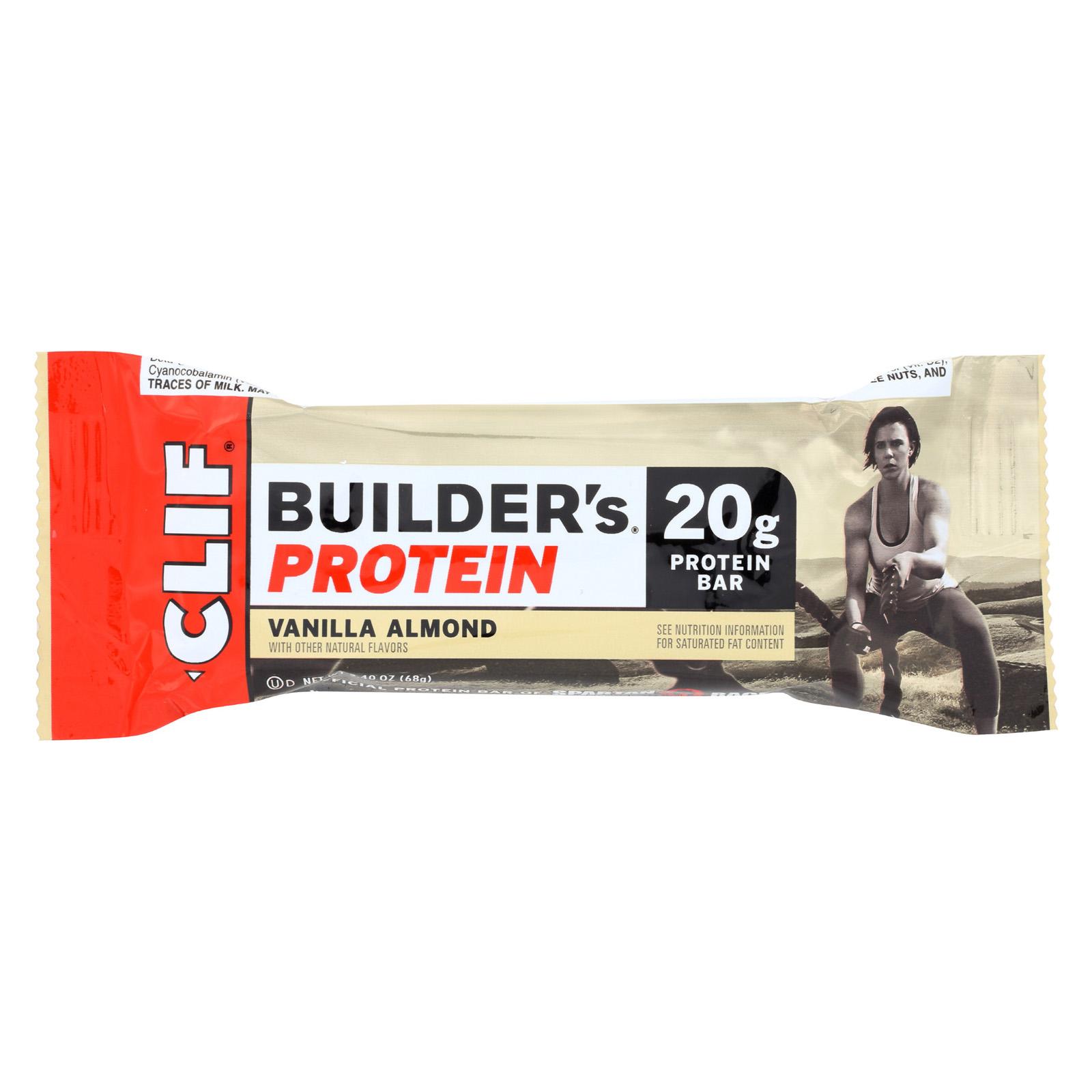 Clif Bar Vanilla Almond Builder Bar (12x24 Oz)