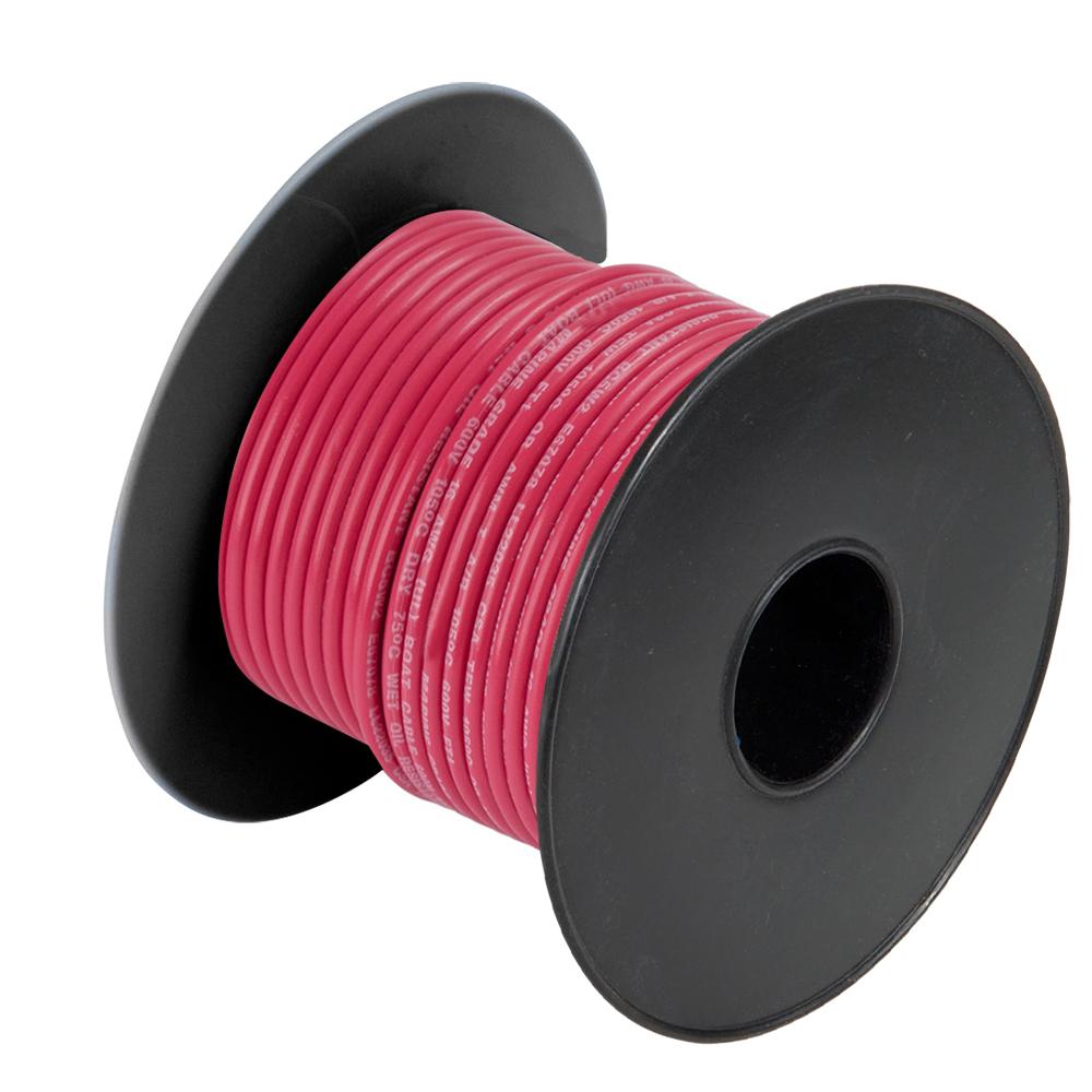 Cobra Wire 14 Gauge Marine Wire - Red - 100'