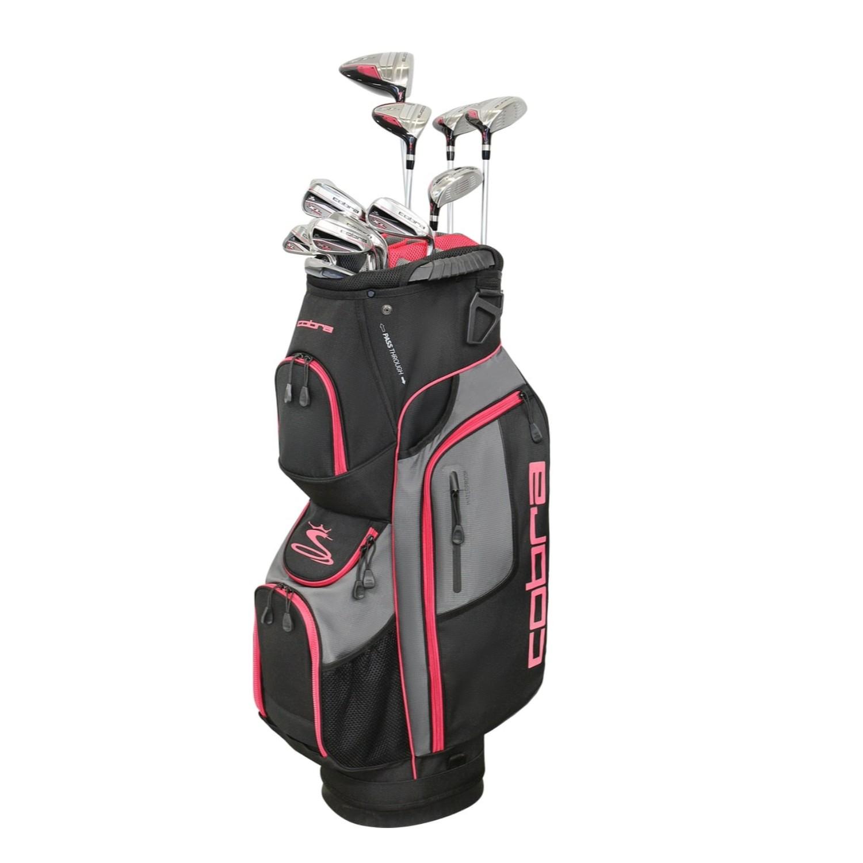 Cobra Golf XL Speed Women's Complete Set Black-Pink RH