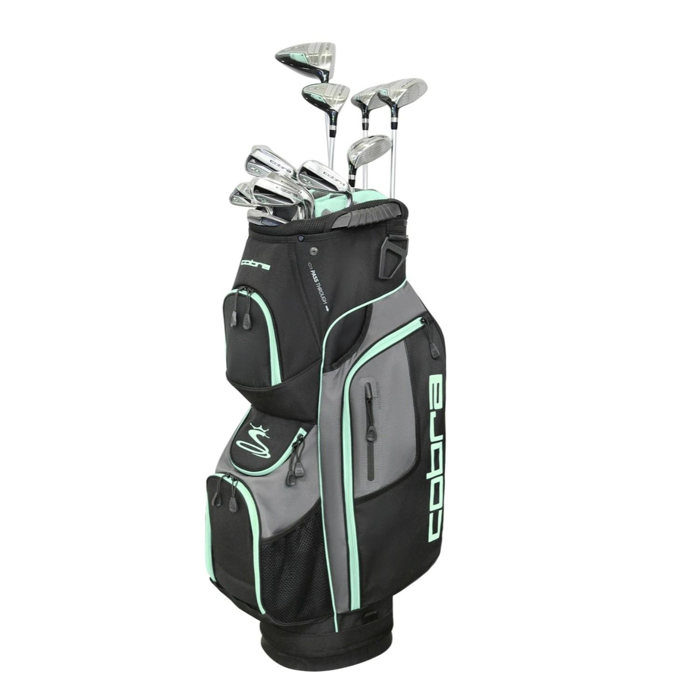 Cobra Golf XL Speed Women's Complete Set Black-Mint RH