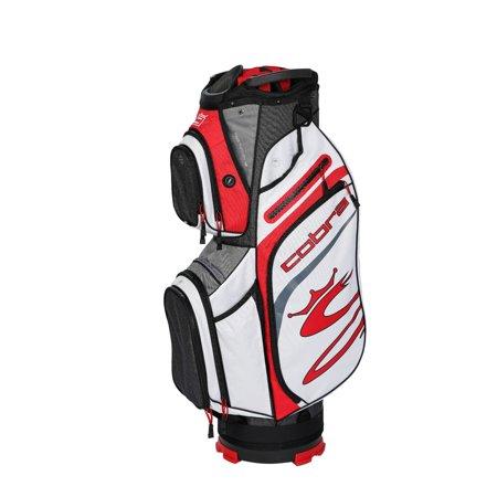 Cobra Golf 2020 Ultralight Cart Bag Black-High Risk Red-Wht