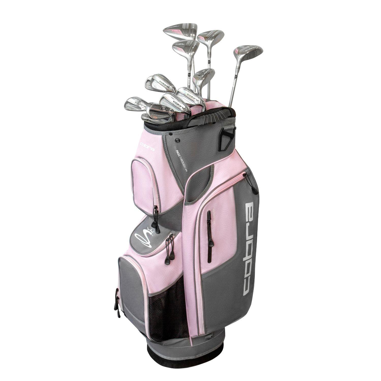 Cobra XL Speed Ladies Golf Set Graphite Silver-Pink RH