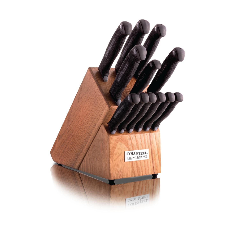 Kitchen Classics Set, Wood Block w/Knives