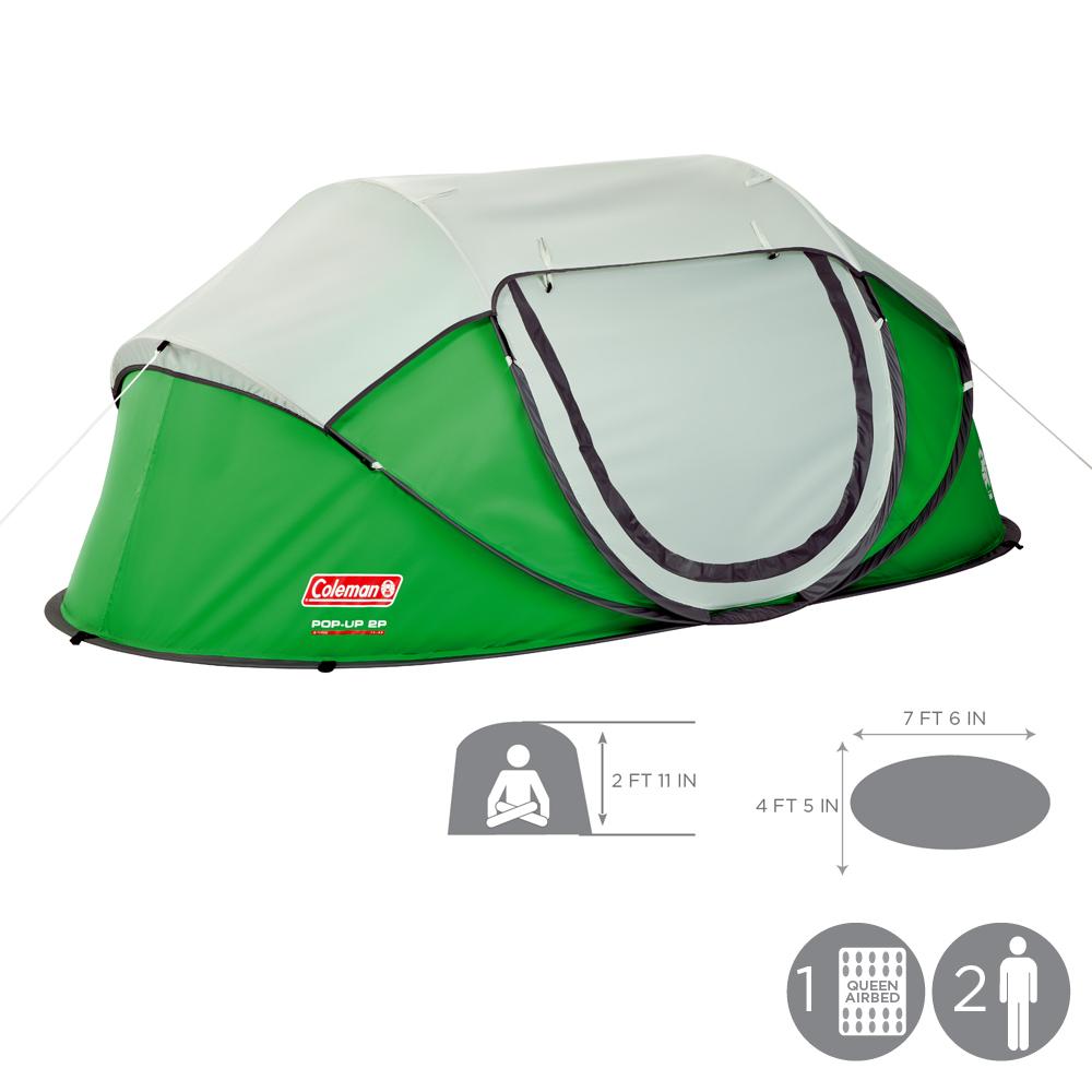 Coleman Popup 2 Tent