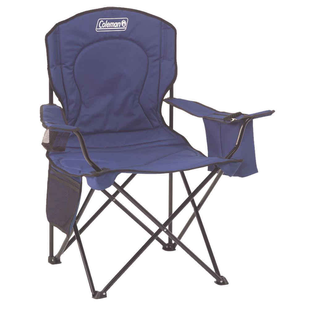 Coleman Cooler Quad Chair - Blue