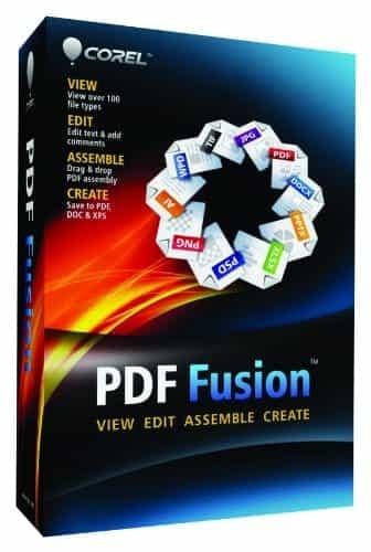 Corel PDF Fusion 1 EN Mini-Box