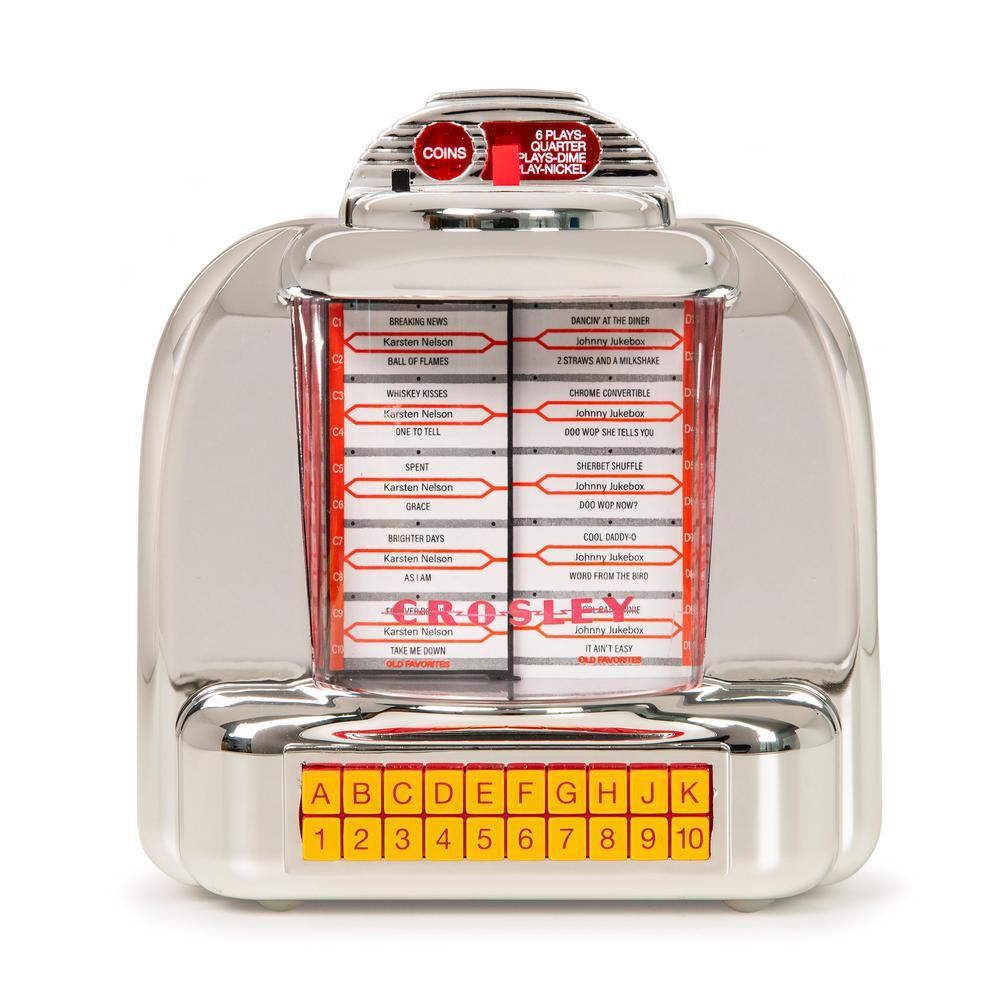 The Diner Jukebox Radio - Silver