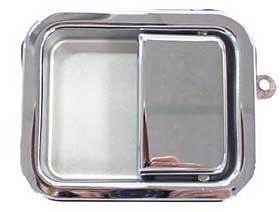 Steel Chrome Door Handle