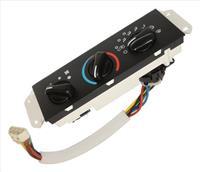 Plastic Black HVAC Control Unit