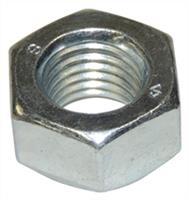 Steel Silver Nut