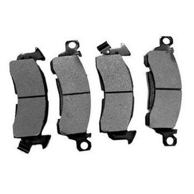 Semi-Metallic Gray Brake Pad Set