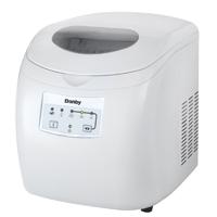 Danby DIM2500WDB Portable Ice Maker, 2 lb, 120 V, Steel, White
