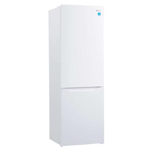 10 CF Bottom Mount Freezer,Crisper Drawer w/ Cover,Electronic Thermostat