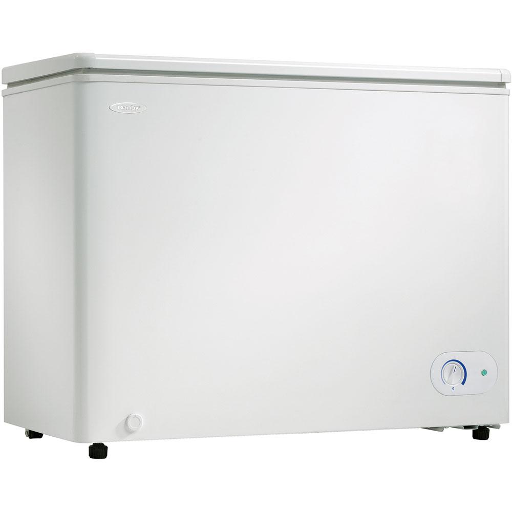 7.2 Cu.Ft. Chest Freezer, 1 Basket, Up Front Temperature Control