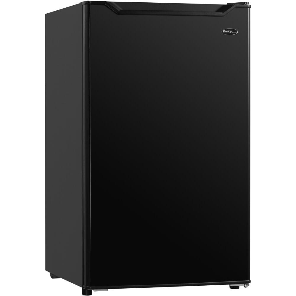 3.3 CuFt. Refrigerator, Full Width Freezer Section, Manual Deforst,ESTAR