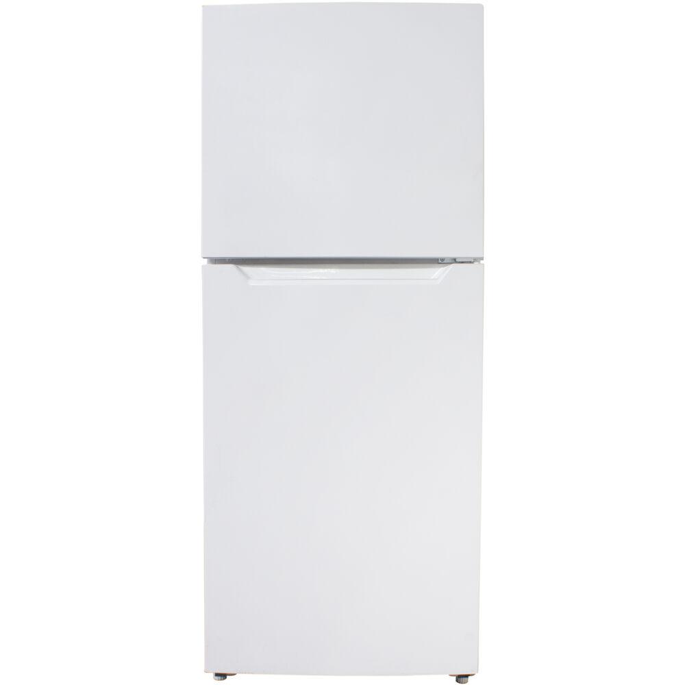 11.6 CuFt Refrigerator, Glass Shelves, Crisper, Frost Free