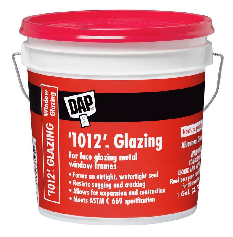 DAP® '1012'® 1 Gallon Glazing Compound, Aluminum Gray