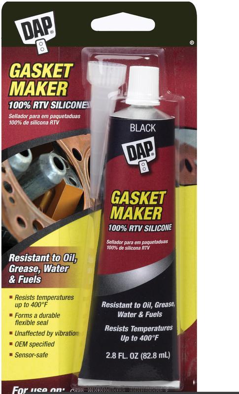 00754 2.8Oz BLACK SILICON GASKET