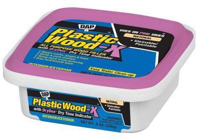 00541 8OZ PLASTIC WOOD-X