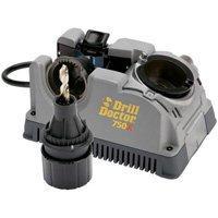 Drill Doctor DD750XC Drill Bit Sharpener, 3/32 - 3/4 in, 110 VAC, 1.75 A, 106.5 W, 20000 rpm