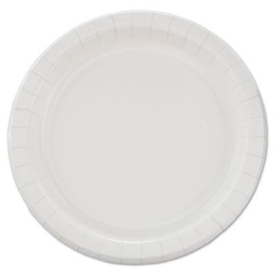 "Bare Eco-Forward Clay-Coated Paper Dinnerware, Plate, 8 1/2"" dia, 500/Carton"