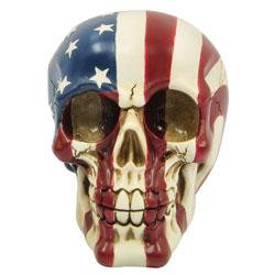 SKULL AMERICAN FLAG
