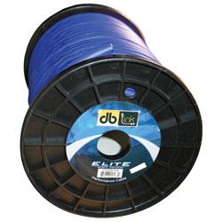 4GA/100'POWER CABLE SOFT TOUCH/FLEX BLUE