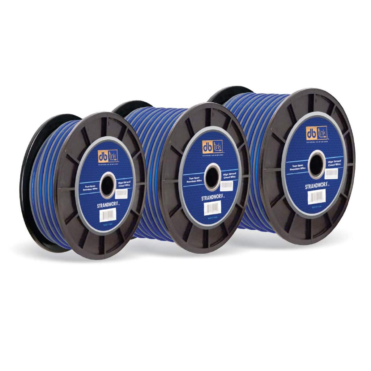 10GA BLUE 100FT STRANDWORX SPKR WIRE