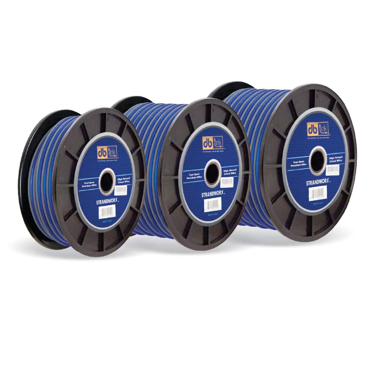 16GA BLUE 500FT STRANDWORX SPRK WIRE
