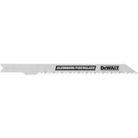 Dewalt DW3705-5 Bi-Metal Jig Saw Blade, 4 in L x 0.06 in T, 8 TPI