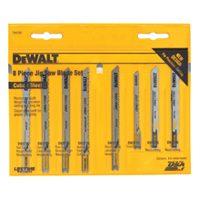 Dewalt DW3790 Jig Saw Blade Set, 8 Pieces, Universal Shank
