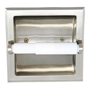 Millbridge Recessed Toilet Paper Holder, Satin Nickel